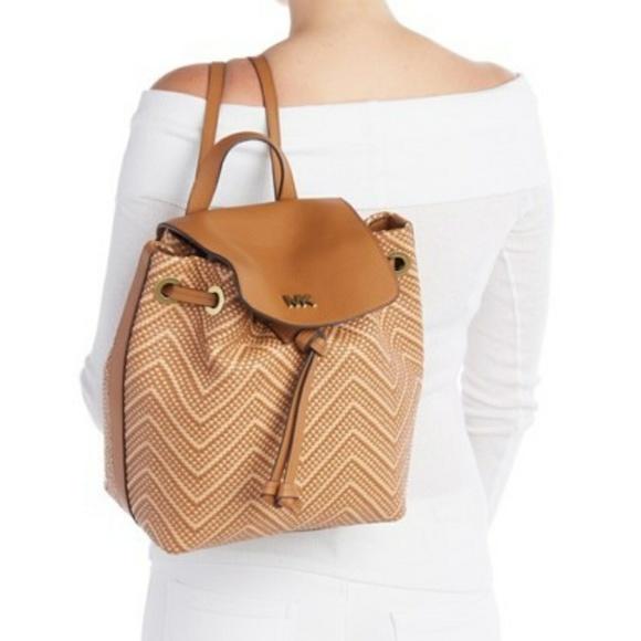 Michael Kors Junie MD Flap Backpack